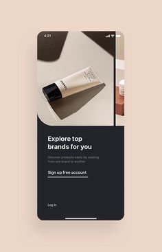 Cosmo Beauty App UI Kit is a pack of delicate UI design screen templates that will help you to design clear interfaces for beauty / cosmetic shopping app faster and easier. Compatible with Sketch App, Figma & Adobe XD Mobile Web Design, App Ui Design, Page Design, Design Web, Design Layouts, Flat Design, Interface Web, Interface Design, Mobile Ui Patterns