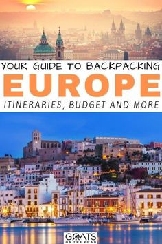 Planning a backpacking trip around Europe? Weve got the ultimate guide for you including budgeting tips itineraries hikes and more. Whether you want to visit eastern europe or western europe weve got the tips for you! Travel Around Europe, Europe Travel Tips, Travel Guides, Places To Travel, Budget Travel, Travel Hacks, Travel Packing, Travel Route, Travel Info