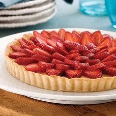 Strawberry Tart - 88 Top-Rated Dessert Recipes - Southern Living