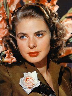 Ingrid Bergman - 1915/1982 - Actrice Suédoise - Casablanca/Pour qui sonne le glas/La maison du Docteur Edwardes