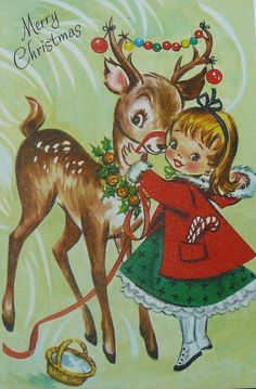 Vintage Christmas Card* 1500 free paper dolls toys at Arielle Gabriels The…
