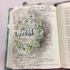 Bible Journaling by @stephmiddaugh
