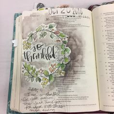 Bible Journaling by @stephmiddaugh