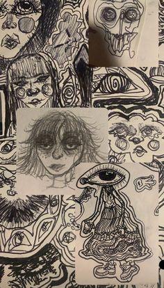 Art Block, Art Painting, Cool Art Drawings, Hippie Art, Cute Art, Art, Funky Art, Aesthetic Art, Cool Drawings