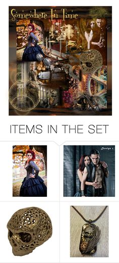"""""""Somewhere In Time"""" by craftygeminicreation ❤ liked on Polyvore featuring art and vintage"""