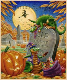 Graveyard Goodies by Randal Spangler ~ Halloween