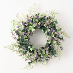 This mixed lavender collection is one you need to have in your toolbox. With a multitude of uses, this array of branches and greens is gathered with soft purple blossoms, ripe for the picking for your next creative project. Place this above your door or mantel for a refreshing look year round with no maintenance at all. Branches, Lavender Wreath, Eucalyptus Wreath, Mini Candles, Soft Purple, Wreaths For Front Door, Garland, Plastic, Toolbox