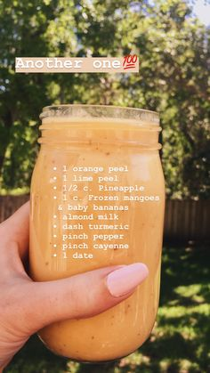 Top 3 Unique Smoothie Blends For Healthy Breakfast Easy Smoothie Recipes, Yummy Smoothies, Yummy Drinks, Healthy Drinks, Healthy Recipes, Easy Recipes, Healthy Snacks, Banana Smoothies, Smoothie Ingredients