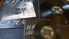Live in the Air Age by Be-Bop Deluxe LP and EP with Inner Sleeves on Vinyl