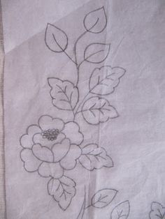 Mari Angeles Labors: Making Flower Embroidery with Stitching Mexican Embroidery, Crewel Embroidery, Hand Embroidery Patterns, Floral Embroidery, Cross Stitch Embroidery, Cross Stitch Patterns, Machine Embroidery, Bordado Floral, Beading Projects