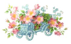 [RES] Flowers Car Abstract PNG by HanaBell1 on DeviantArt
