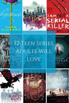 12 Teen Book Series Adults Will Love. These may be teen books, but adults will love them for their emotional storytelling and fast-paced action.