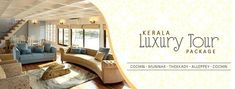 Kerala Holidays provides Kerala luxury tour packages for family vacation, romantic couple trips and for leisure. The luxury tour package to Kerala covers Cochin, Munnar, Thekkady and Alleppey offers hotels rooms of spectacular opulence in every destination. This 5 night 6 days luxury tour package gives splendour experience of Kerala along with lifetime memorable moments. The luxurious package provides guest the choice of experiencing beaches, backwaters and exotic hill station.