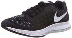 Nike Air Zoom Pegasus 31, Damen Laufschuhe Training, Schwarz (Black/White 010), EU 37.5 - http://uhr.haus/nike/37-5-eu-nike-air-zoom-pegasus-31-damen-laufschuhe-10