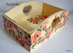 Nádoby - Vintage ružičky - 4721915_