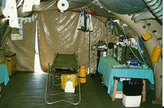 Resus tent East Timor