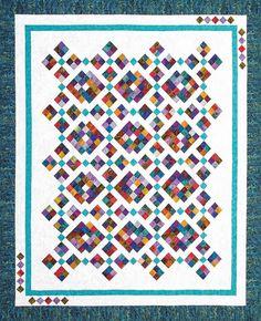 MEDITATION Pixie Party QUEEN Jinny Beyer PRECUT Fabric Quilt Kit 92 x 108 Easy #CozyQuiltDesigns