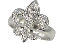 Fleur de lis- love this symbol! For decoration, jewelry, clothes...love it! Not only bc it is beautiful but the meaning of it