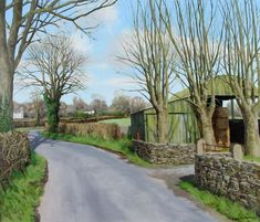 Spring Lane by Eugene Conway