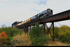 RailPictures.Net Photo: UP 844 Union Pacific Steam 4-8-4 at Sauget, Illinois by John Witthaus