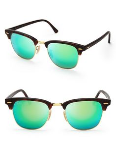3259660823 Ray-Ban Mirrored Clubmaster Sunglasses