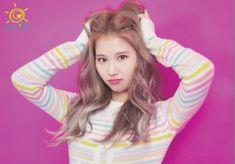 "Twice-Sana ""Happy Happy"" Postcard Scan Nayeon, South Korean Girls, Korean Girl Groups, Osaka, Shy Shy Shy, Sana Cute, Sana Momo, Sana Minatozaki, Twice Sana"