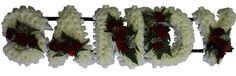 SANDY - #floral #flowers #moonstones #ltd #fareham #florist #sympathy #tribute #sandy