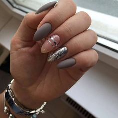 41 Trendy ideas for manicure pedicure designs classy Pedicure Designs, Manicure E Pedicure, Gel Nail Designs, Pedicure Ideas, Nail Ideas, Love Nails, Fun Nails, Pretty Nails, Almond Acrylic Nails