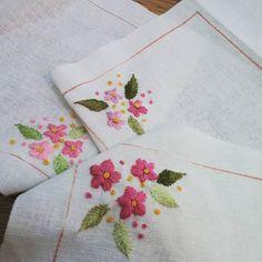 #Embroidery#stitch#needlework  #프랑스자수#일산프랑스자수#자수 #벚꽃의 계절~