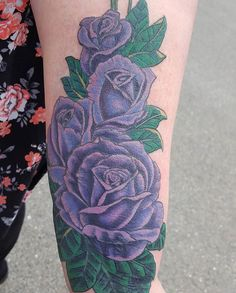 Laura made these pretty purple roses. There's a cover-up under there too! 😲 See more on Instagram @ember_steel  SLC Ink Tattoo 1150 South Main Street Salt Lake City, Utah (801) 596-2061 slcinktattoo@gmail.com www.slctattoos.com  #slc #rosetattoo #slcink #utahtattoo #utahtattoos #saltlaketattoo #tattoosforutah #slctattooartists #utahartist #saltlakecitytattoo #slctattoo #slctattooartist #saltlaketattoos #slctattoos #slctattooconvention #saltlakecitytattooconvention #slcartist #saltlakecity…