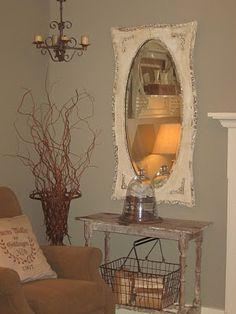 vintage decor ideas Loving this! Vintage Room, Vintage Shabby Chic, Vintage Home Decor, Rustic Decor, Vintage Cabin, Vintage Ideas, Primitive Decor, Rustic Wood, Best Wall Colors