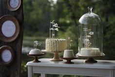 Wee Wedding Cakes