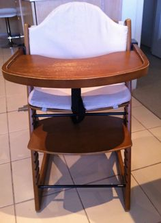 Jolly Wooden High Chair in VIC | $31 with damage and missing part & Wooden High Chair | Feeding | Gumtree Australia Outer Geelong ...