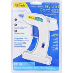 Amazon.com: Adhesive Technologies 0280 Hybrid Multi Temp Cordless Gun: Arts, Crafts & Sewing