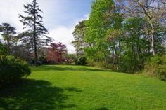 Lush yard! Land in Vineyard Haven. Build Your #MarthasVineyard #DreamHouse