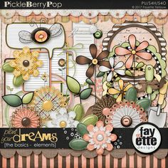 Plant Your Dreams - The Basics Elements By Fayette Designs