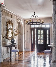 Entry Tables, Sofa Tables, Foyer Decorating, Decorating Ideas, Enchanted Home, Entry Hallway, Country Estate, Florida Home, Rustic Elegance