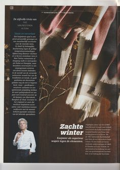 Quote mag: Isabelle knows about cashmere!