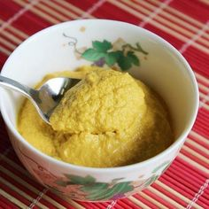 This carrot almond puree is so delicious, it doesn't taste like baby food.