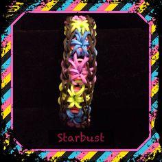 Rainbow loom starbust ( creation kamyso )
