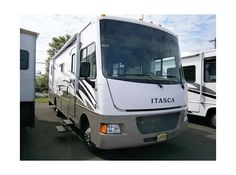 Get most affordable deals on Cheap Used 2014 #Itasca Sunstar #Class_A_Motorhomes by Camping World of Syracuse for $74995 in Syracuse, NY, USA. This 2014 Itasca Sunstar31KE available in good condition with best features as 1 Slide Out, Booth Dinette, Center Kitchen, Center Living Room, Double door refrigerator, Ducted AC, Electric Patio Awning, Electric Step, Fiberglass Exterior, Ford Chassis, Gas Generator, Gas/Elec. You can see more details at: http://goo.gl/NLZd7Q