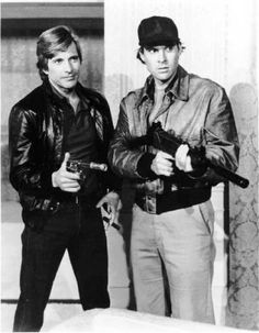 "The A-Team series. Dirk Benedict - Templeton ""Face"" Peck. Dwight Schultz - H.M. Murdock. 80's."