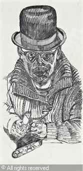 BRATBY John Randall - Self Portrait