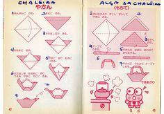MARIA DOBRADURA: chaleira origami
