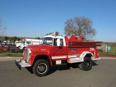 International Loadstar fire truck.Middle Falls Fire Department had one of these growing up