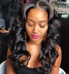 ... Long weaves on Pinterest | Sew ins, Straight hair and Hair weaves