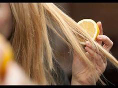 Como aclarar el pelo naturalmente con jugo de Limon fuente de la imformacin del video: http://tipsdebellezaymoda.com/como-aclarar-el-cabello-naturalmente/ ac...