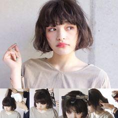 芸能人もみんなボブに♡みんなが「ボブ」に夢中な理由! - LOCARI(ロカリ) How To Make Hair, Make Up, Middle Hair, Hair Arrange, Hair Brained, Cool Hairstyles, Hair Cuts, Hair Beauty, Hair Styles