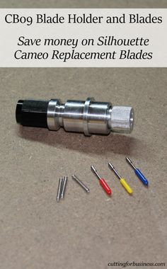 Silhouette Deep Cut Blade Review And What It Can Cut In