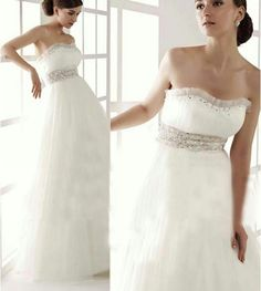 Wedding Dress For Pregnant Women/pregnant Wedding Gown/bridal Dress For  Pregnant Women